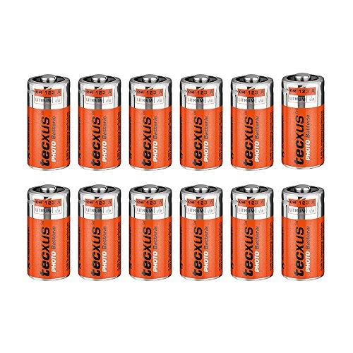 Tecxus CR 123 A T Lithium Batterie 3V für Foto,...
