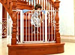 No need of taking the extra effort of calling a carpenter to get a door or gate made to prevent child ( or pet) from entering areas like kitchen , balconies, stairs etc. Kiddale ready to use metal gate can be installed within minutes without the need...