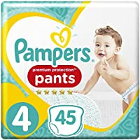 Pampers Premium Protection Collection pour Homme Taille 4, 45 couches,  (2 x 45 pièces)