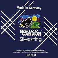 0545140122100006 Silber 200 m Weiss Cannon Saitenrolle Silverstring
