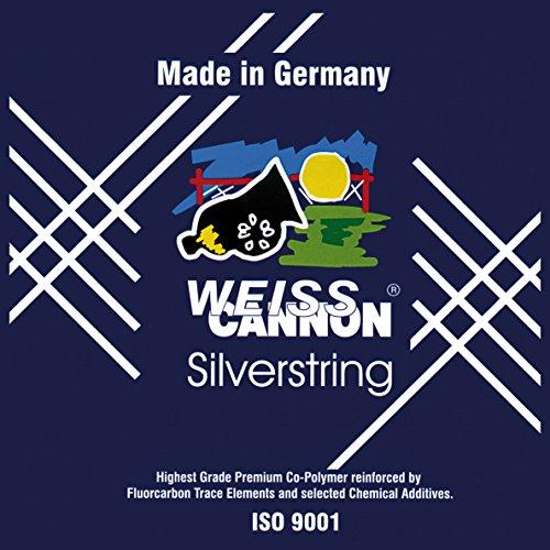 Preisvergleich Produktbild Weiss Cannon Saitenset Silverstring,  Silber,  12 m,  0545140122800010