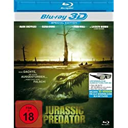 Jurassic Predator (Real 3D-Edition) (Blu-ray) [Alemania] [Blu-ray]