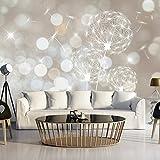 murando - Fototapete 500x280 cm - Vlies Tapete -Moderne Wanddeko - Design Tapete - Abstrakt Blumen PusteBlume b-C-0122-a-b