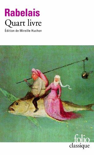 Quart livre par François Rabelais