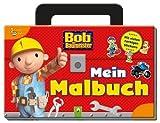 Bob der Baumeister - Mein Malbuch: Mit vielen farbigen Stickern im Werkzeugkoffer-Format von unbekannt (2013) Broschiert