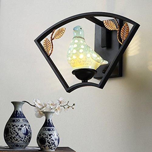BOOTU LED Wandleuchte nach oben und unten Wandleuchten Wandleuchten antiken Wohnzimmer Wände Schlafzimmer Nachttischlampe Flur Balkon aus Fahrscheinwerfer, 1916-1 B MUI eingerichtet sind.
