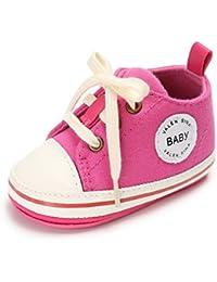 Zapatos para bebé, Culater Patucos de Velcro 0-18 meses (12'18 Meses, Gris)