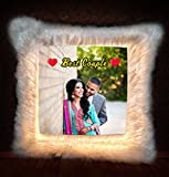 """PERSONALIZED LED CUSHION_Birthday gift for Husband 