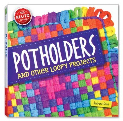 [ POTHOLDERS: AND OTHER LOOPY PROJECTS [WITH COTTON/NYLON LOOPS, LOOM, NEEDLE, HOOK, YARN] ] BY Kane, Barbara ( AUTHOR )Mar-01-2013 ( Paperback ) (Nylon Loom)
