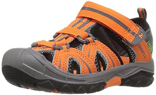 Merrell Jungen Hydro Aqua Schuhe, Mehrfarbig (Orange/Grey), 37 - Junge Merrell Schuhe