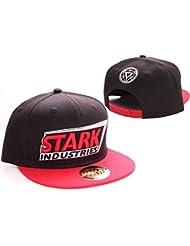 Iron Man Cap Stark Industries Mütze Snapback Baseball Cap Schirmmütze