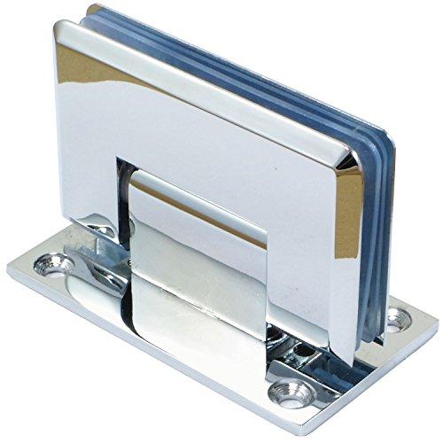 Di Vapor (R) 90° à Fixation murale Porte de douche en verre Charnière | Chromé | Do