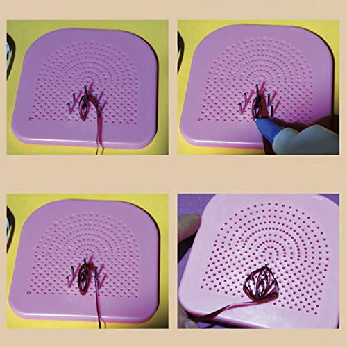 CHENLIGHT Quilter Grid Guide Papier Crafting Quilling Handarbeit Papier Basteln DIY Werkzeug -