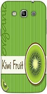 Snoogg Bright Organic Kiwi Fruit Card In Vector Format Designer Protective Ba...