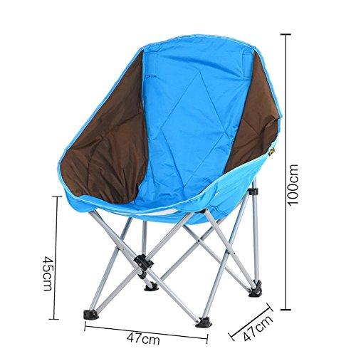 Tragbare leichte Outdoor-Klappliege Stuhl für Angeln Camping Wandern Skizze Hocker für , A