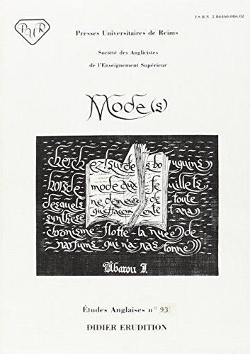Modes. actes du congres de reims (1983).
