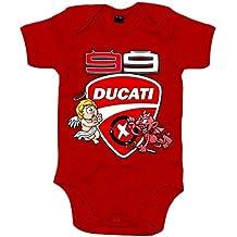 Body bebé Moto GP Jorge Lorenzo Ducati 99 angel y demonio