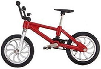 NaiCasy Mini Fahrrad Modell Spielzeug für Kinder und Erwachsene Zink-Legierung Finger Spielzeug Finger BMX Fahrradkugel Modell Bike Gadgets 1pc zufällige Farbe