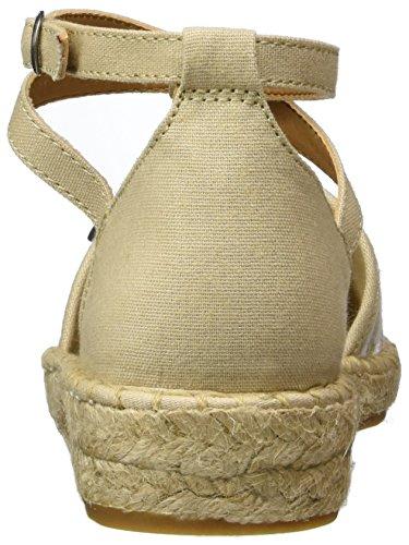 Esprit Ines Sandal, Espadrilles Femme Beige (260 Light Taupe)