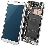 Spare Sostituzione Parti di Ricambio 3 in 1 LCD + Frame + Touch Pad per Samsung Galaxy Note III / N9005, 4G LTE (Colore : Bianco)