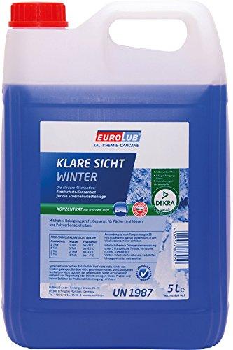 EUROLUB KLARE SICHT WINTER KONZENTRAT, 5 Liter