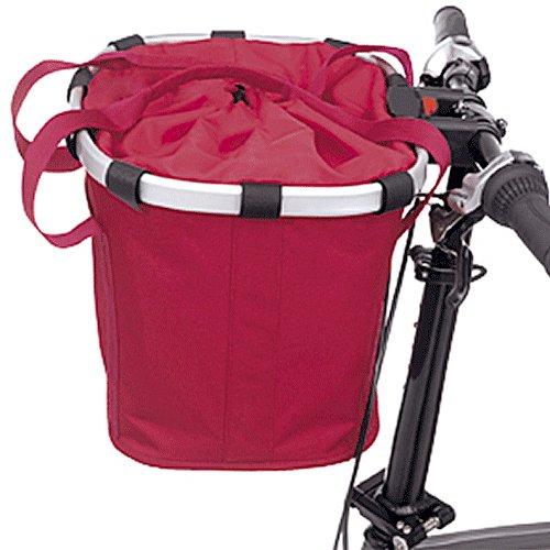 KLICKfix Fahrradtasche Bikebasket Schwarz