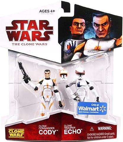 Star Wars - The Clone Wars - Double-pack : Cody & Echo - (Hasbro)