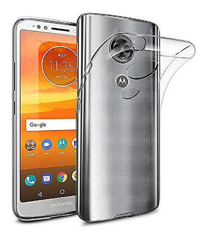Motorola Moto E5 Plus Transparent Ultra Thin Back Cover for Moto E5 Plus by Magic