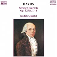Haydn: String Quartets Op. 1, Nos. 1- 4
