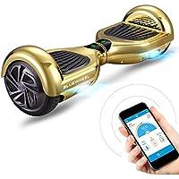 """Ganador del test* 6.5"""" Hoverboard Bluewheel HX310s con estándar de seguridad UL2272, Sistema de seguridad para niños a través de app, Altavoz Bluetooth, Motor de 700W, Scooter eléctrico Self-Balance"""