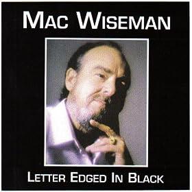 Letter Edged In Black