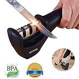 ANYOYO Messerschärfer dreistufig Manuelle Küche Messer schärfen Werkzeug für Reparatur,...