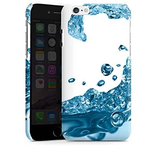 Apple iPhone 5s Housse étui coque protection Eau Water Gouttes Cas Premium brillant