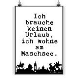 Mr. & Mrs. Panda Poster DIN A5 Hannover Spruch