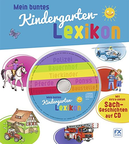 Mein buntes Kindergartenlexikon mit CD
