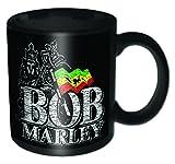 BOB MARLEY DISTRESSED LOGO MUG