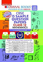 Oswaal CBSE Sample Question Paper Class 12 Mathematics Book (Reduced Syllabus for 2021 Exam)