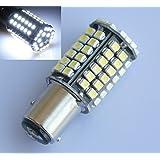2x BAY15D 1157P21/5W SMD 80LED voiture Blanc Lampe Lumière Lumière de frein Feu arrière