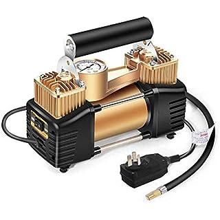 Gummireifen-Startseite Luftkompressor Autoreifen Luftpumpe 3 Min Reifendruck Trägt Fall Ventiladapter 220V 100PSI, Für Autos/Motorrad