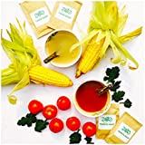 Zoe - Nutrition For Life Flat-Belly 2-In-1 Super Soup Pack [15 Sachets Of Calcium-Rich Tomato Soup + 15 Sachets...