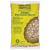 NATCO geröstet und gesalzen Pistazien Jumbo 1 kg