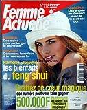 Telecharger Livres FEMME ACTUELLE No 778 du 23 08 1999 CUISINE DE L ENTREE AU DESSERT AVEC LE RIZ TOUT EST BON DES SOINS POUR PROLONGER LE BRONZAGE COMMENT FAIRE FACE A LA MAUVAISE FOI LES BIANFAITS DU FENG SHUI (PDF,EPUB,MOBI) gratuits en Francaise