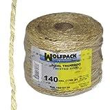 Wolfpack 16010110 Cuerda de sisal nº3/4-2c (bobina700 g, 140 m)