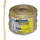 Wolfpack 16010110 Cuerda Sisal Nº3 4-2 Cabos (Bobina 700 gr./140 m.)