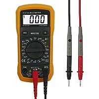 Multímetro Digital , Neoteck Digital Voltímetro Amperímetro Ohmímetro Medidor de Volt tester para Medir Corriente Resistencia Voltaje