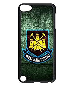 BhKyu West Ham United F.C. Football Logo Phone Case For iPod Touch 5th Generation generation-i4fn4004Sports Football Image Scratch Proof Cover Skin For Fans Custom Pattern