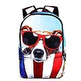 Aimashi Youth Kids Girls Boys Lovely Cartoon Animal Backpack Light-weight Hiking Travel School Bags (C)