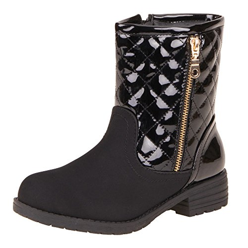 Ital-gM9010, bottines femme Noir - Noir