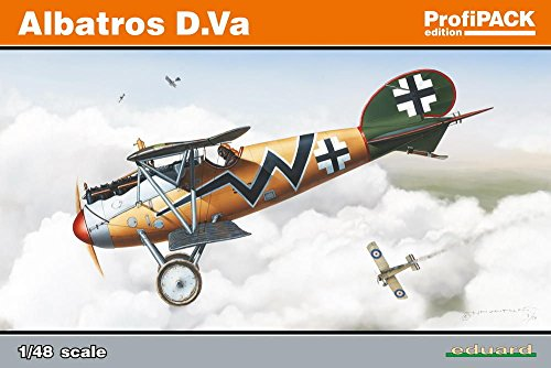 Eduard Plastic Kits 8111 - Modellbausatz Albatros D.Va ProfiPack Foreign Air Forces - Profi Pack