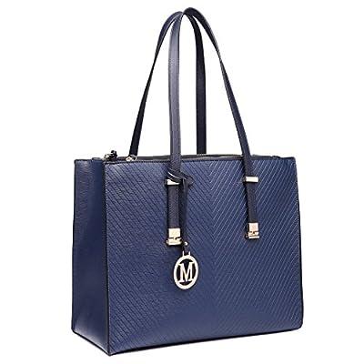 Miss Lulu Women Designer Shoulder Handbags Ladies Faux Leather Tote Bags